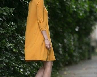 Swing dress Zoe in sunflower