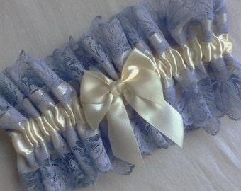 Lilac , Lavender , Lace Garter , Cream , Ivory , Wide Lace Garter , Lace Lingerie , Sain , Garter , Lace Neck Ruff , Choker , UK
