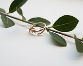 Thorn Ring- Branch-Inspired Jewelry in Precious and Semi-Precious Metals