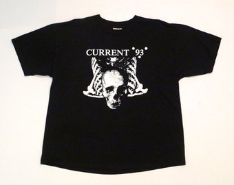 Current 93 Nurse With Wound T Shirt Vintage David Tibet Psychic TV 23 Skidoo Steven Stapleton Electronic Experimental Industrial Music Band