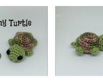 Tiny Amigurumi Turtle
