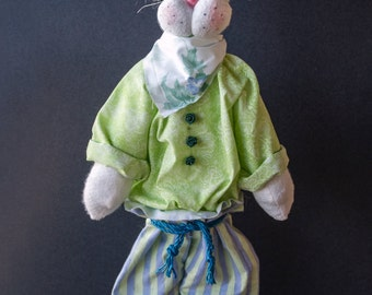 Hopscotch the Whimsical Easter Bunny