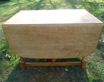 Unique Drop Leaf Tables Related Items Etsy