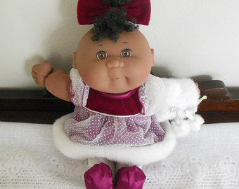 1995 Holiday Christmas Cabbage Patch Doll