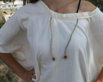 White and Breezy Poncho