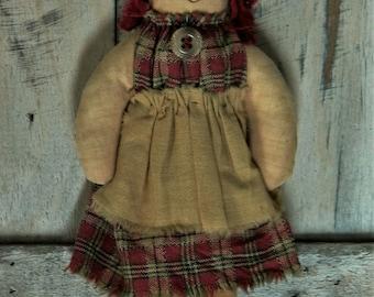 Raggedy Annie Ornament