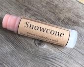 Snowcone natural lip balm