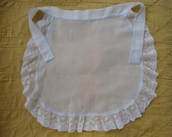 Vintage Children's Linen Apron