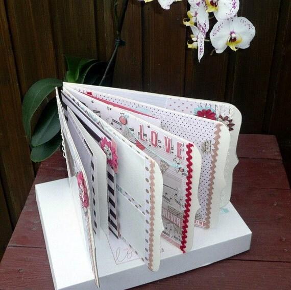 Hallmark Wedding Album: Wedding Scrapbook Album Keepsake Memory Book Elegants Floral