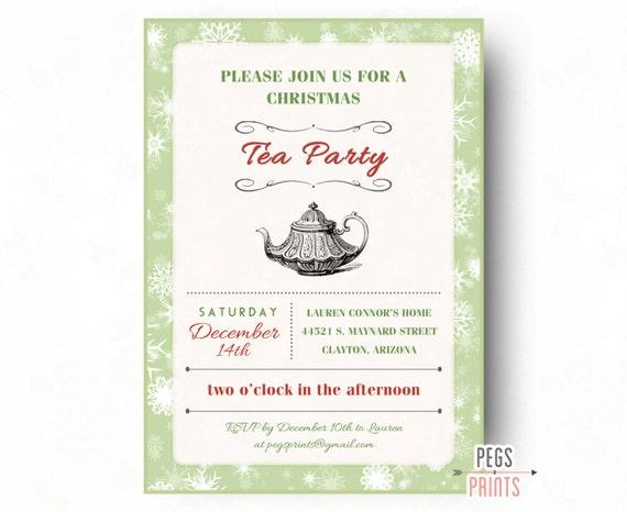 il_570xN.868189773_530h items similar to christmas tea party invitation (printable,Christmas Tea Party Invitations