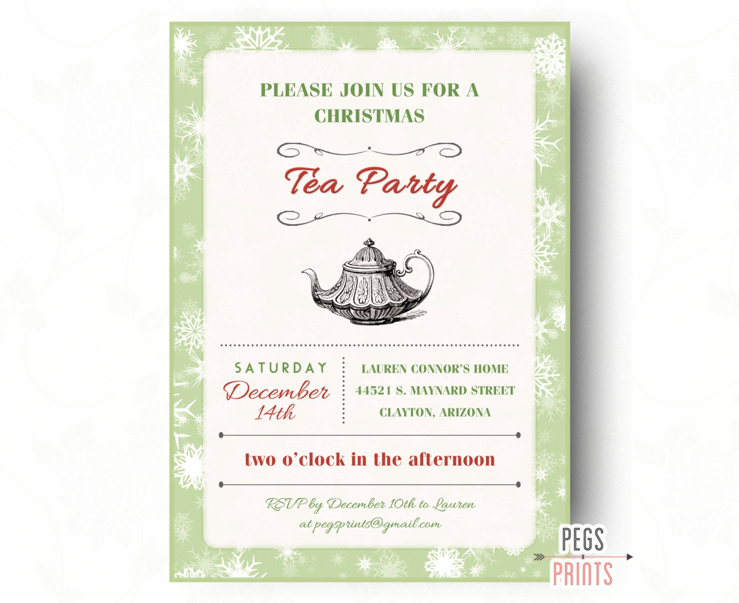 It's just a picture of Geeky Printable Tea Party Invitations