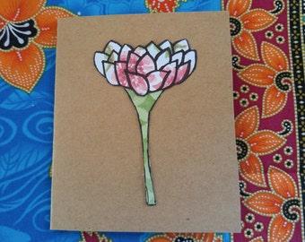 Blank Lotus Style Flower 1