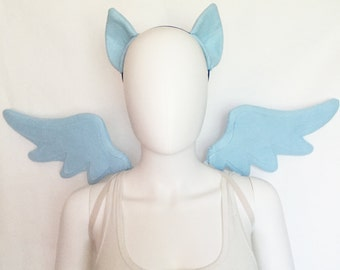 Rainbow Dash Costume with wings and ears, Rainbow Dash cosplay, Rainbow Dash costume