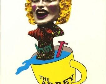 Madonna: Blonde Ambition Vintage Rare Billboard Postcard