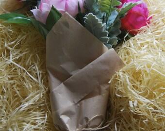 Artificial Silk Peony Bouquet