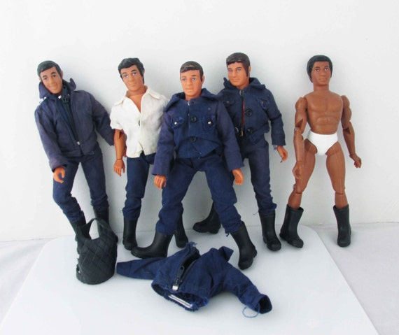 SWAT LJN Toys Deacon And Rookies Action Figures Toys Lot Of 5