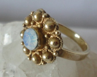 Gorgeous Vintage Gold filed Opal Ring*****.