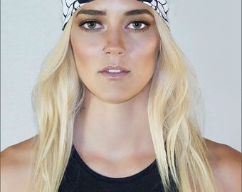 Butterfish Headband: Inspired by underwater creatures created for the bold- Handmade- Authentic design by Alicia/Ellafly