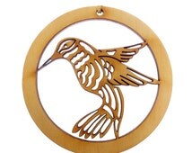 Hummingbird Ornament - Hummingbird Ornaments - Hummingbird Gift - Unique Hummingbird Gifts - Hummingbird Christmas Decor - Personalized Free
