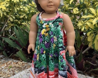 Muumuu fits American Girl Doll and 18 inch dolls