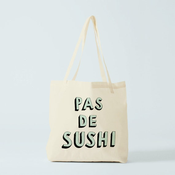 Tote Bag funny french quote, canvas bag, fun french words, knitting bag, school bag, yoga bag, gym bag, novelty gift, gift for coworker.