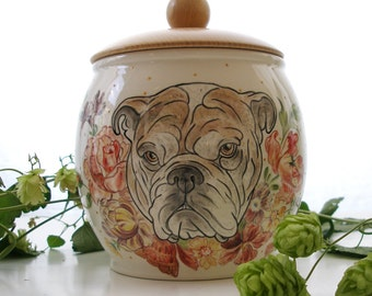 big  custom quote pet urn / unique pet urn / cremation urn /  3l