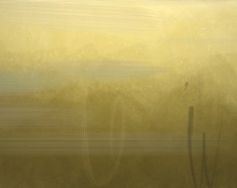 Abstract Painting Gold Venus
