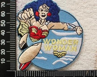 Wonder Woman Embroidery Patch Super Hero Iron on Patch CD138