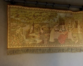 Vintage Tapestry Wall Hanging