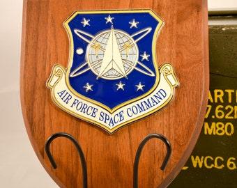 Air Force Space Command Plaque - AFSC AFSPC Militaria
