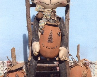Primitive PATTERN Alley Cat and His Junkyard Jacks