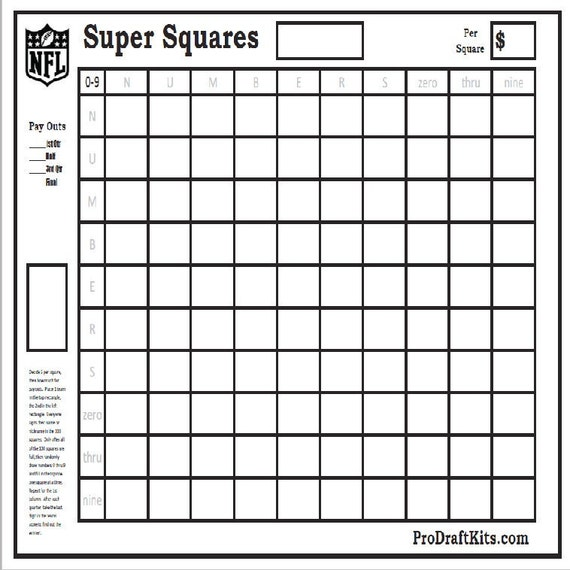 Inventive image regarding super bowl board printable