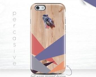 Owl iPhone 6 Case Geometric iPhone SE Case, iPhone 6+ Case Colorful iPhone 6Plus Case, iPhone 5s Triangle iPhone 6s Case Owl  10b