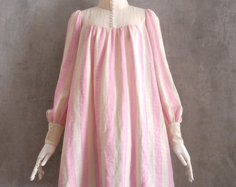 Size M High Collar Long Blouse Women's PDF Sewing Pattern
