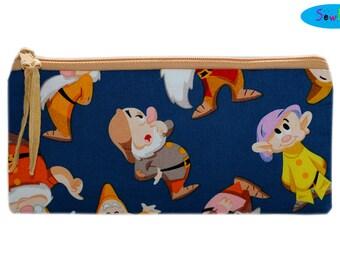 Pencil Case | Pencil Pouch | Pencil Holder | Zippered Bag | Zipper Bag | Dwarfs Bag
