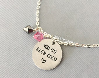 Mean Girls Inspired You Go Glen Coco Necklace.