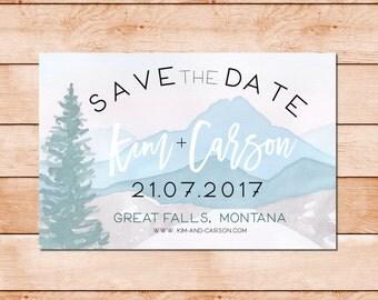 Save the Date - Montana wedding, Arizona wedding, Utah wedding, Colorado wedding