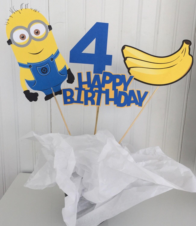 minion cake topper despicable me minions cake topper 7 5 inch