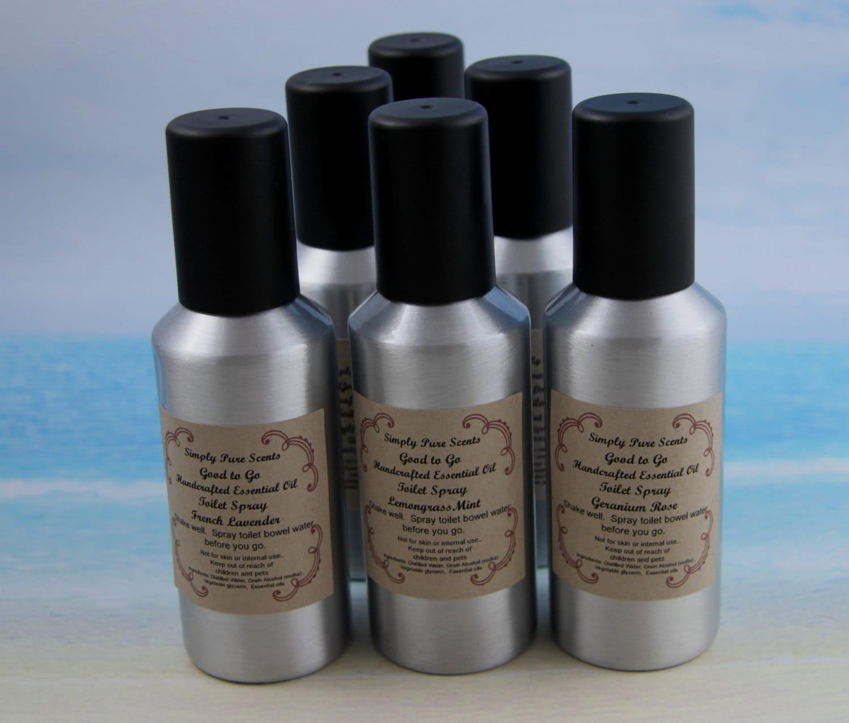 Natural Deodorizer Spray Toilet Spray Odor By Simplypurescents