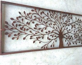Metal Wall Art, Metal Wall Decor, Metal Tree Wall Art, Tree Decor,