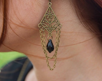 Gothic Goddess Earrings