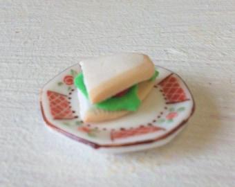 Salad Sandwich on plate