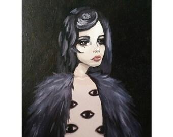 Eyes // Original Acrylic Painting