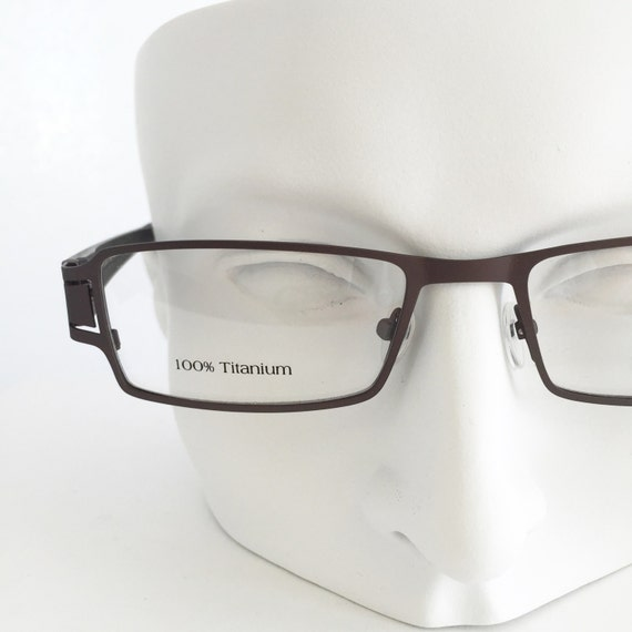 titanium custom reading glasses titanium eyeglasses matte