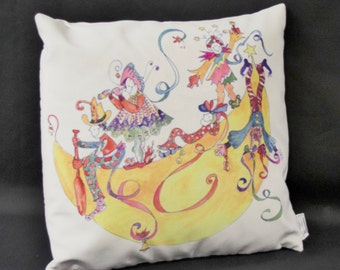 Pillow of the Sillybillies on the Moon