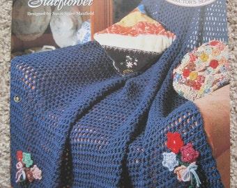 Crochet Pattern - Starflower - Vintage 1995