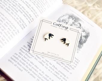 Brass - Malayan Tapir Earring