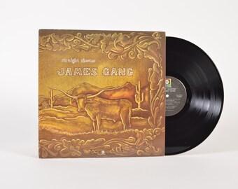 "JAMES GANG - ""Straight Shooter"" vinyl record"