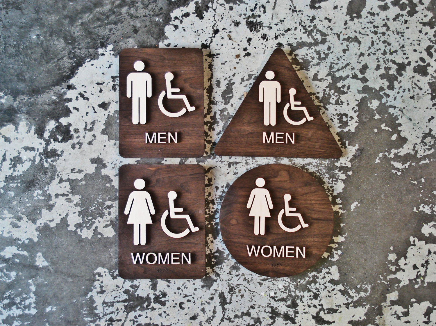 California Title 24 Restroom Signs ADA Compliant Bathroom
