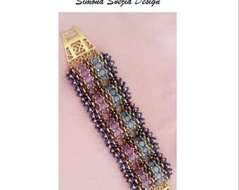 Tutorial DRAGON SKIN bracelet/bracelet